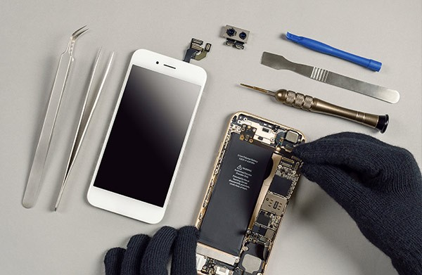 Réparation écran et batterieSamsung Iphone à La Rochelle | CRH Informatique